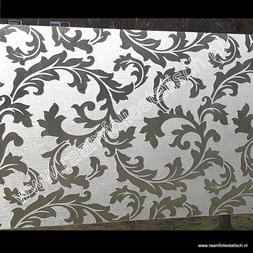 175. Raamfolie gekrulde bladeren (plakfolie voor ramen)