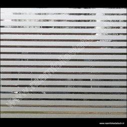 187. Statische raamfolie horizontale strepen