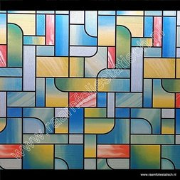 207. Raamfolie kleuren modern (plakfolie voor ramen)