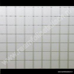 214. Statische raamfolie streep / blokken