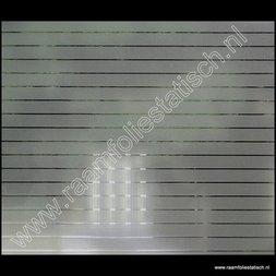 223. Statische raamfolie smalle strepen