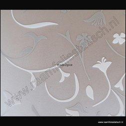 4. Statische raamfolie bloemmotieven deluxe
