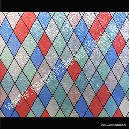 81. Raamfolie glas in lood ruiten (plakfolie voor ramen)