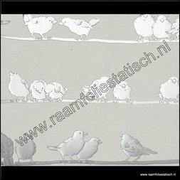 91. Statische raamfolie vogels