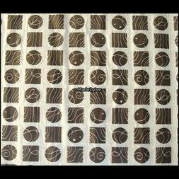 99. Statische textielfolie Lyon Gris decobytrium