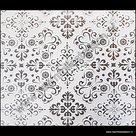 statische raamfolie melkglas ornamenten