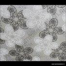 statische raamfolie bloemmotief