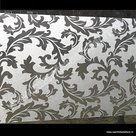 plakfolie voor ramen gekrulde bladeren 67,5cm