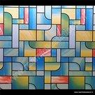 raamfolie kleuren modern 90cm