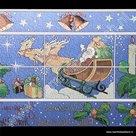 statische raamfolie Kerstmis 46cm