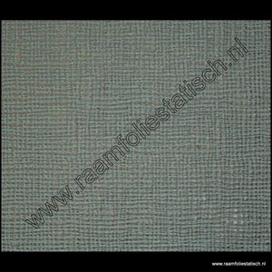 Statische raamfolie geweven grijs