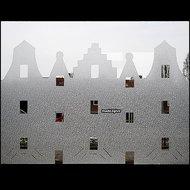 raamdecoratie grachtenpanden
