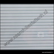 statische raamfolie witte lijnen 90cm
