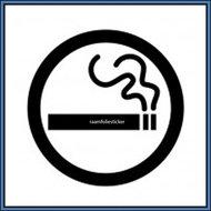 Roken-sticker