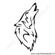 Wolf-sticker