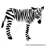 Zebra-sticker