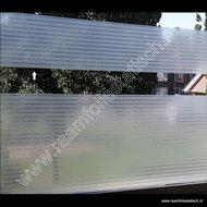 statische raamfolie smalle strepen strook 22cm