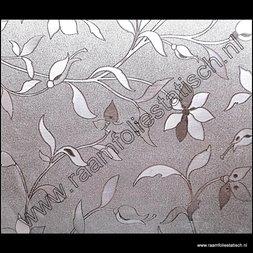 110. Statische raamfolie flowers