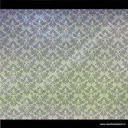 209. Raamfolie barok bruin (plakfolie voor ramen)