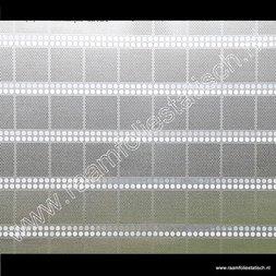 213. Statische raamfolie silver