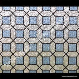 235. Raamfolie blok blauw (plakfolie voor ramen)