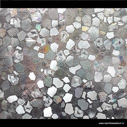 241. Statische raamfolie flagstones