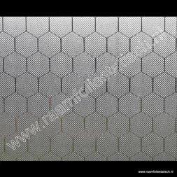 256. Statische raamfolie Hexagon