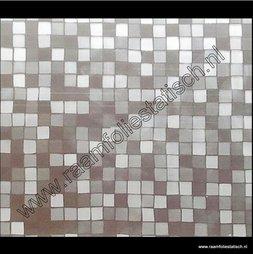 55. Statische raamfolie vierkantjes