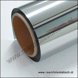 90. Zonwerende raamfolie (zilver / spiegel) (plakfolie voor ramen)