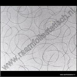 158. Statische raamfolie Cirkels
