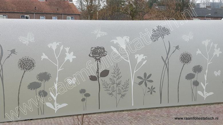 D-c-fix static premium Blossom (statische raamfolie bloemen met vlinders 45cm)