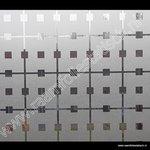 Statische raamfolie Manhattan 45cm