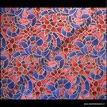 Raamfolie kleuren paars