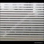 statische raamfolie horizontale strepen