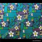 Statische raamfolie Provence 45cmx1,5m