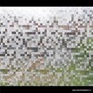 Statische raamfolie 0,5cm Blokjes 45cmx1,5m