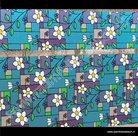 Statische raamfolie Provence strook 22,5cm x 1,5m