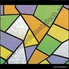 Raamfolie-Mozaiek