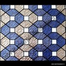 statische raamfolie kleuren design blauw transparant