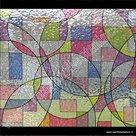 statische raamfolie picaso kleuren