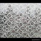 Statische raamfolie ornamenten 45cm