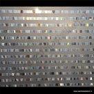 Statische raamfolie moderne strepen 92cm verticaal