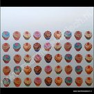 Statische raamfolie cupcakes 70cm