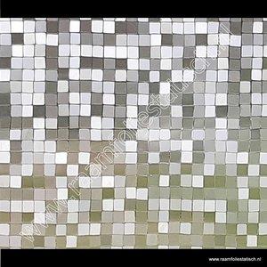 Statische raamfolie 1,5cm Blokjes 45cmx1,5m