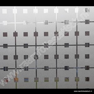 Statische raamfolie Manhattan 90cm