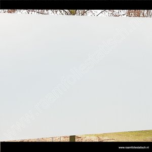 inkijkwerende statische melkglasfolie mat pr. 90cm x 15m standaard