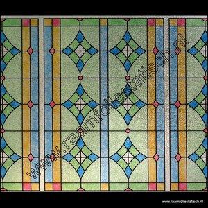 Raamfolie glas in lood raamfoliestatisch for Spiegelfolie gamma