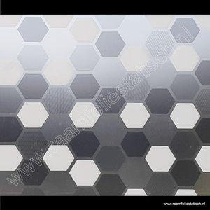 Statische raamfolie zeshoek wido 45cm d-c-fix premium