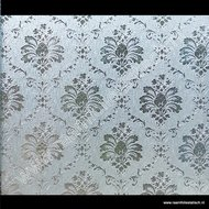 Statische raamfolie Barok verticaal 67,5cm x 1,5meter