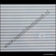 statische raamfolie witte lijnen 45cm